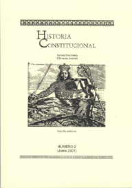 Ver Núm. 2 (2001): Historia Constitucional N. 2 (2001)