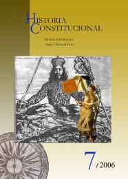 Ver Núm. 7 (2006): Historia Constitucional N. 7 (2006)